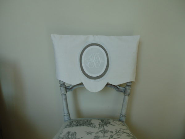 Housse dossier de chaise