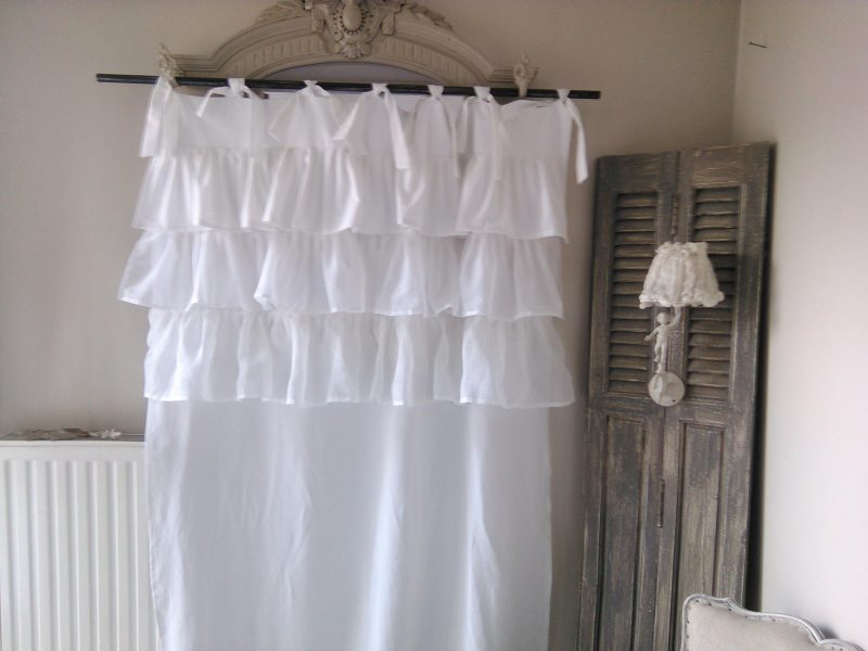 Rideau Froufrou Shabby Romantique 187 Mh Cr 233 Ations