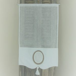 Rideau brise bise pour petite fenêtre sur mesure et personnalisé