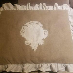 Bout de lit froufrou MH Creations